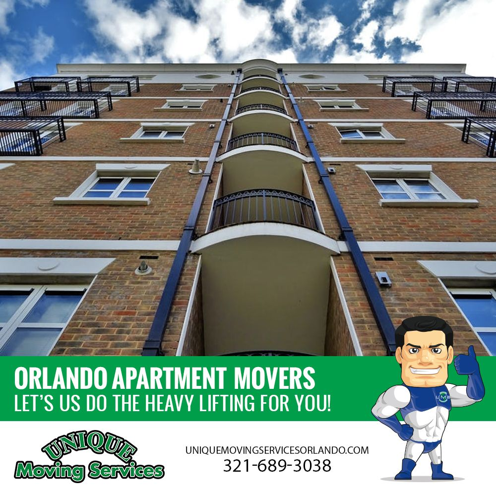 The house movers at Unique Moving Services Orlando are