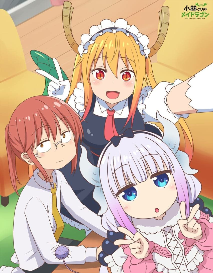 Kobayashi Tohru Kanna Kobayashi San Chi No Maid Dragon Miss Kobayashi S Dragon Maid Anime