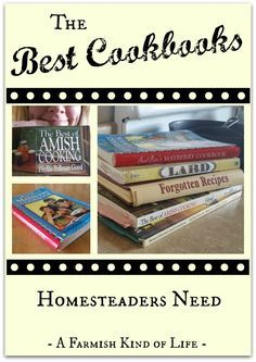 What an honor to be included on this list! The 9 Best Cookbooks Homesteaders Need
