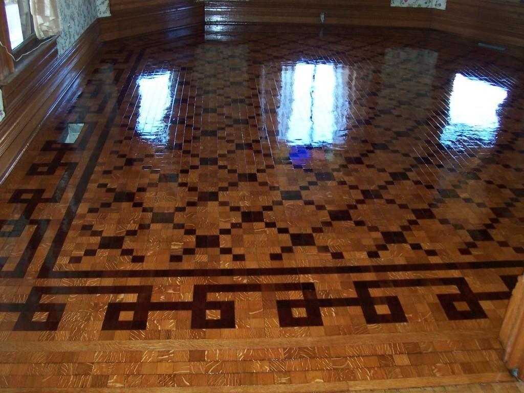 1893 Queen Anne Parquet Floor Trenton Tn Woodwork