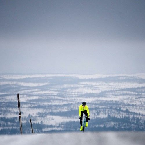 Road biking in winter  Picture: Gruber Images