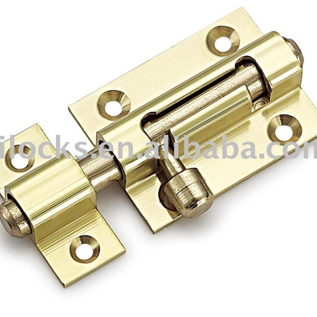 Slide Lock Door Bolt Tower Bolt Pinterest Doors