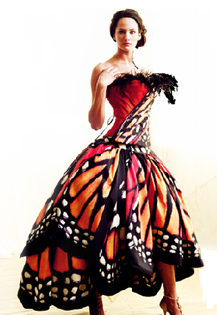 Monarch Butterfly Dress. Could be an amazing Halloween costume at some point. With a mask.