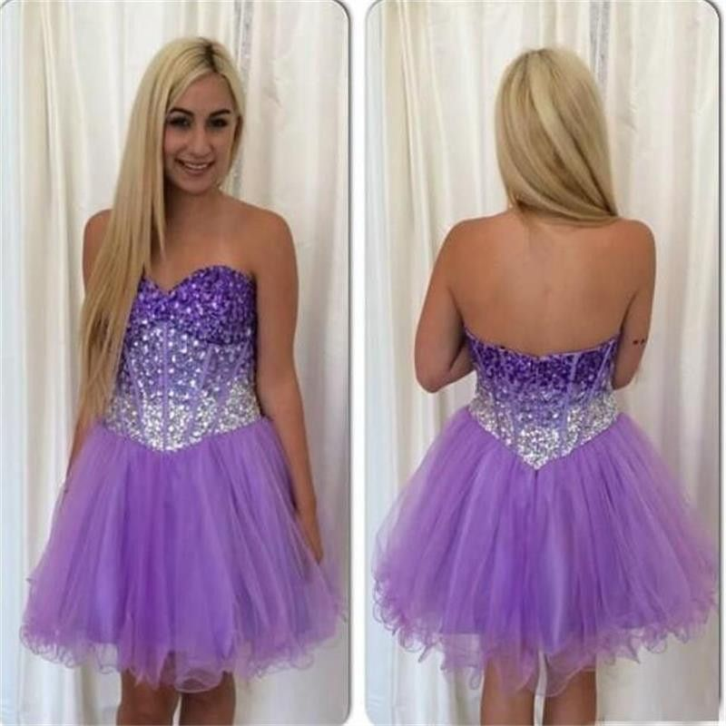 $179.99 Beaded bodice A-line homecoming dress,2017 short prom dress,sweetheart prom dress