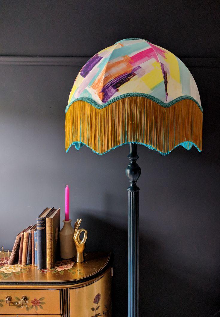 Bon Shade Www Bon Maison Co Uk Hockney Velvet Fringed Lampshade Decorating Lig Bon Decorating Fringed Hockney Lampsh Metal Lighting Decor Home Decor