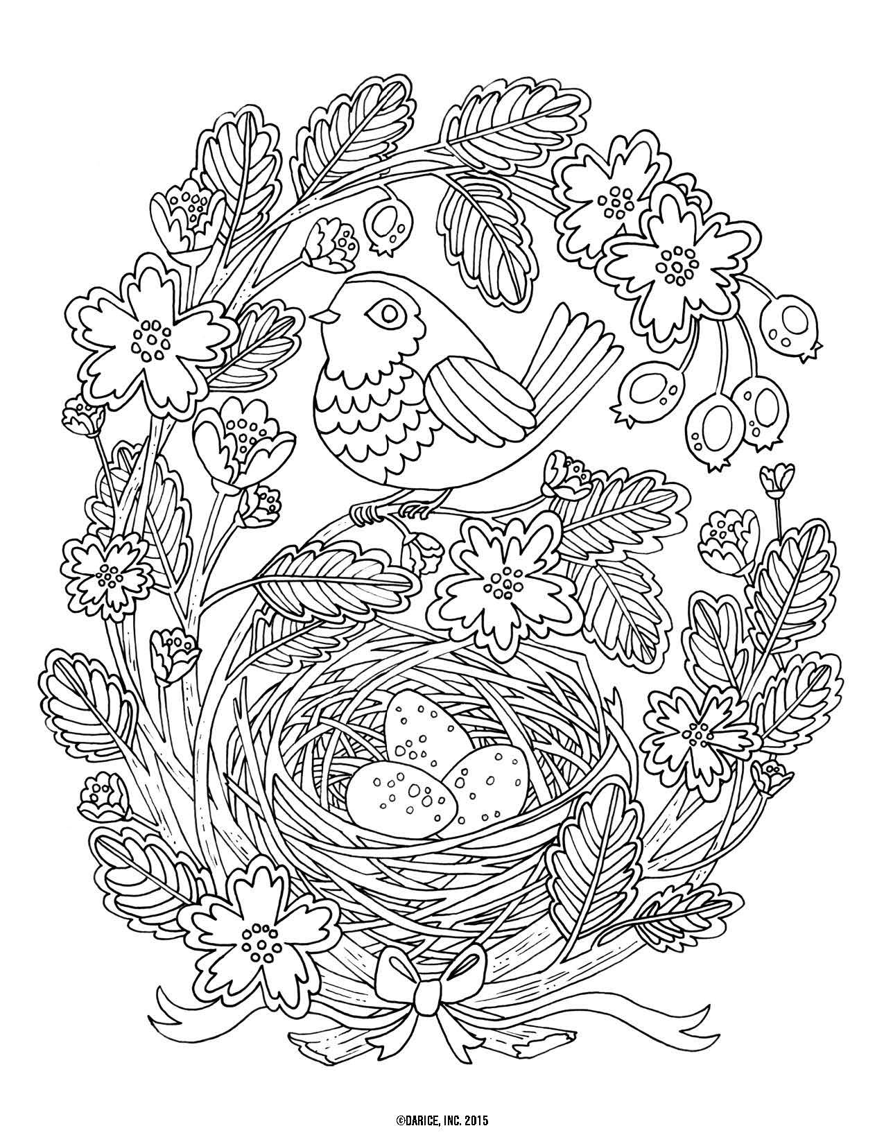 Try out the adult coloring book trend for yourself with our 9 free ...