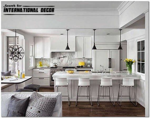 Small kitchen and living room together design google for Kitchen and living room together