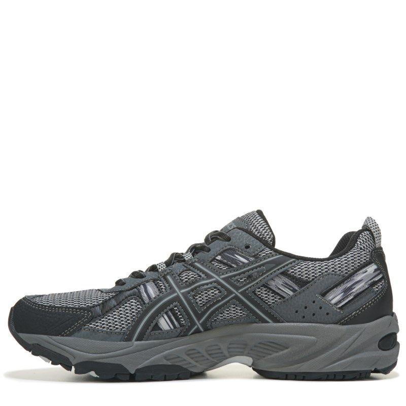 ASICS Men's Gel-Venture 5 Trail Running Shoes (Silver/Onyx/Black)