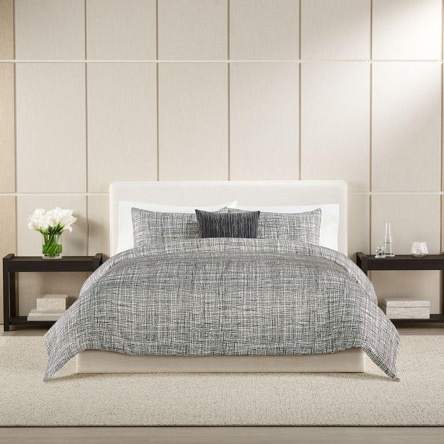 Simply Vera Vera Wang Monochrome Mesh Comforter Set In 2020 King