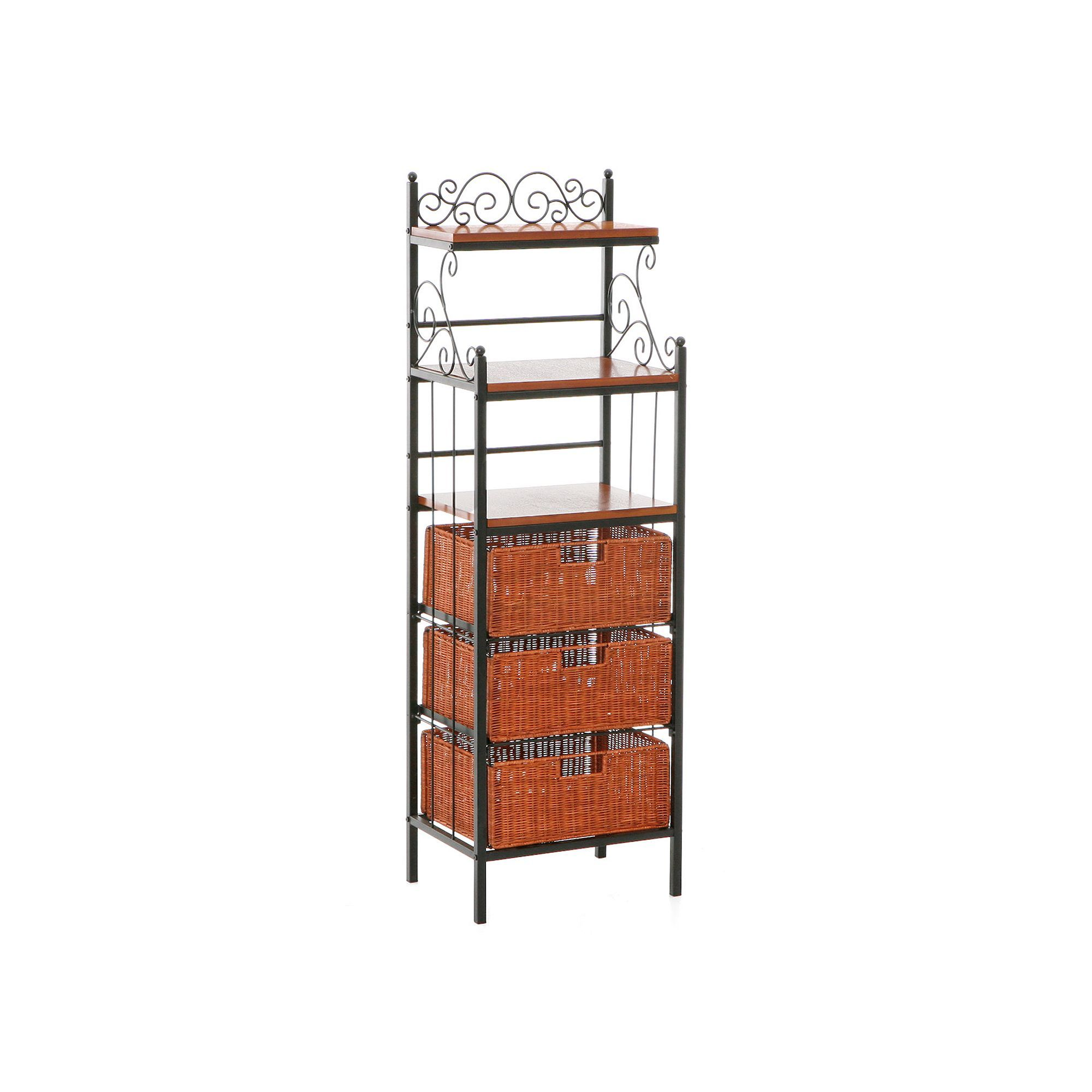 Manilla 3 Drawer Baker S Rack Bakers Rack Storage Shelves