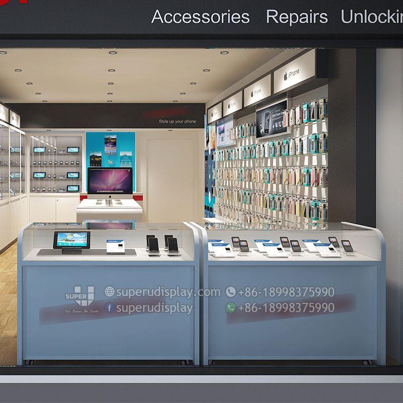 Mostrador De Celulares Para Tienda De Telefonos Moviles Diseno Y