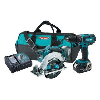 Makita XT250 LXT 18V Cordless Lithium-Ion  1/2 in. Hammer Drill and Circular Saw Kit  http://www.handtoolskit.com/makita-xt250-lxt-18v-cordless-lithium-ion-12-in-hammer-drill-and-circular-saw-kit/