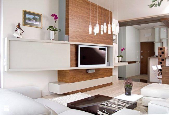 Fernseher an Wand montieren - Die eleganteste Variante fürs - moderne wohnzimmer wande