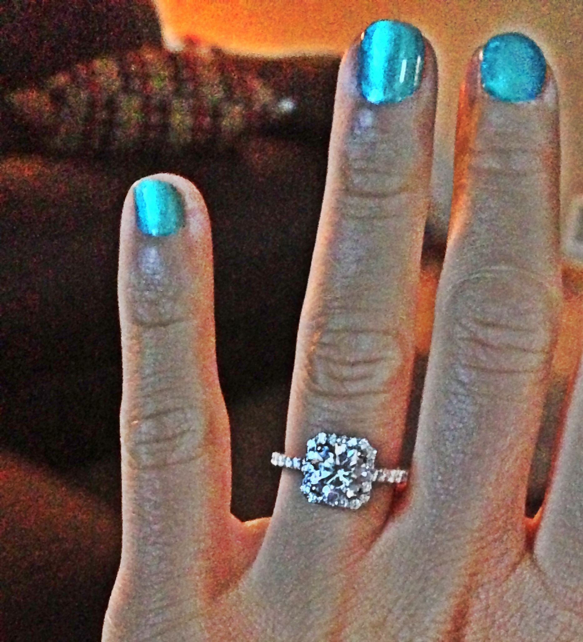 My engagement ring ❤