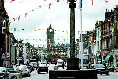 Town Impressions | Royal Burgh of Peebles, High Street.