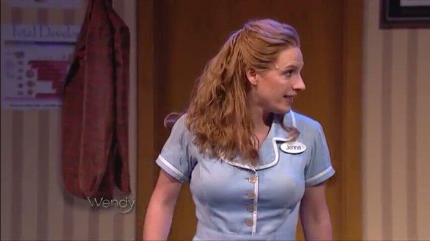 It S Good To See Your Face Hamilton And Waitress Ik Ik Waitress Musical Waitress Jessie Mueller