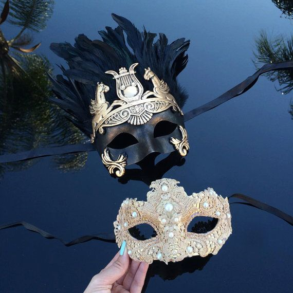 Half Masks To Decorate Prepossessing Couples Masquerade Mask His & Hers Masquerade Mask4Everstore Decorating Inspiration