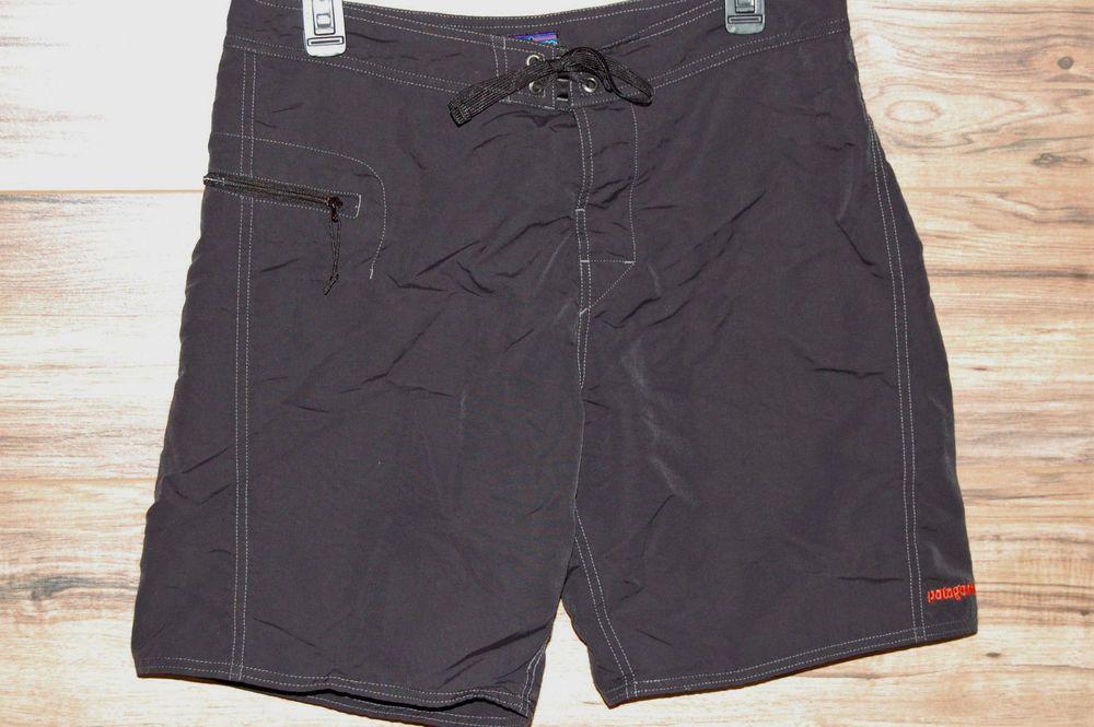 bdf8fc18a8304 Patagonia Men's Wavefarer Board Shorts Size 33 Black Swim #Patagonia # BoardShorts