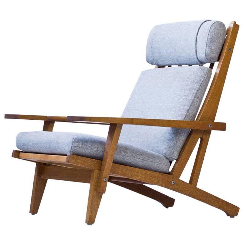 Ge 375 Lounge Chair By Hans J Wegner For Getama Denmark 1960s