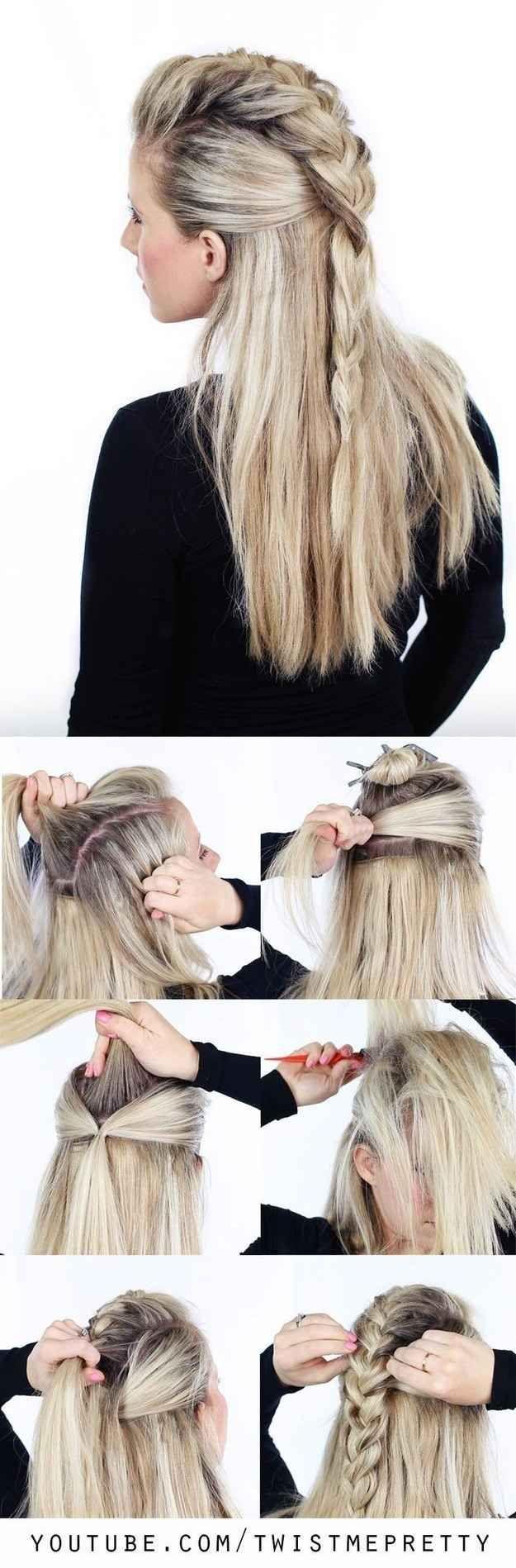 tutoriales de trenzas que querrás probar hair style makeup and
