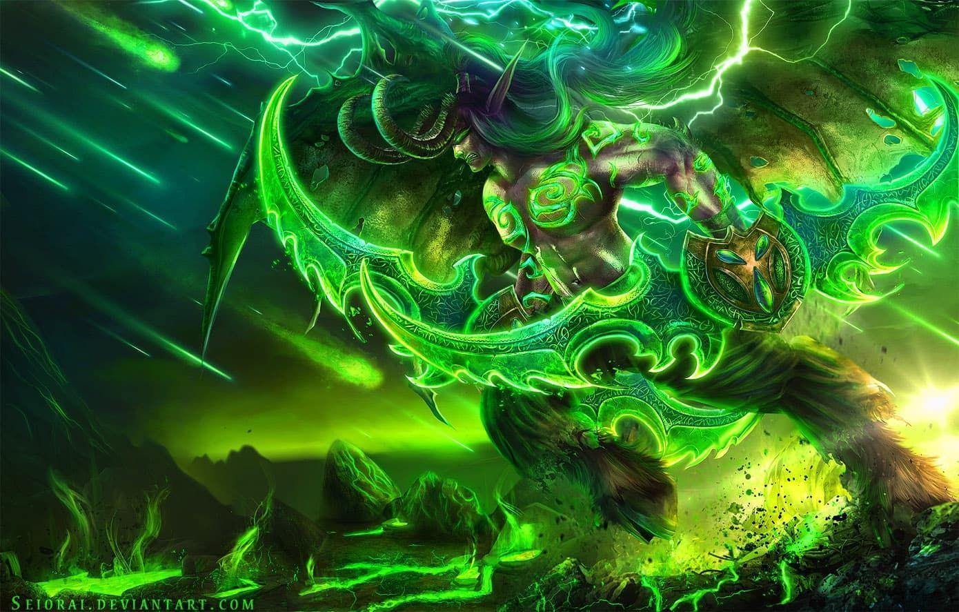 World Of Warcraft Legion Demon Hunter Illidan Wallpaper