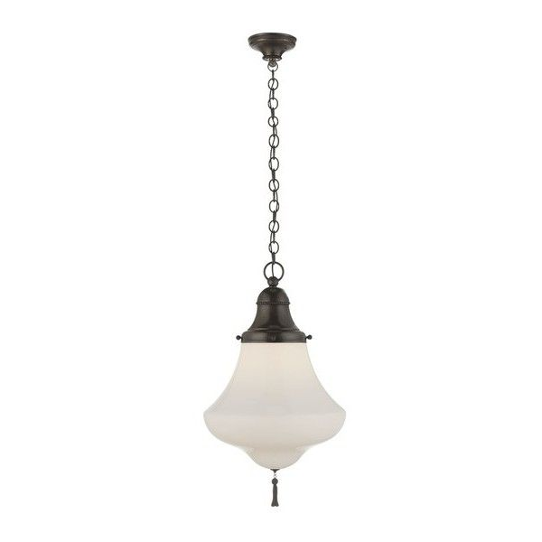 Ralph Lauren Home Xavier Small Pendant (3.950 BRL) ❤ liked on ...