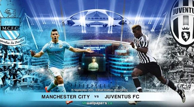 Live Manchester City Vs Juventus Manchester City Juventus City