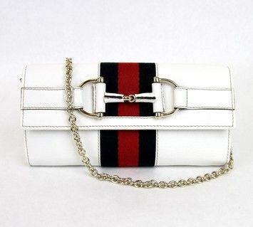 d49b016b130a The Gucci Horsebit Web White Clutch is a top 10 member favorite on Tradesy.  Save on yours before they are sold out! Gucci Leather Wallet W/chain ...