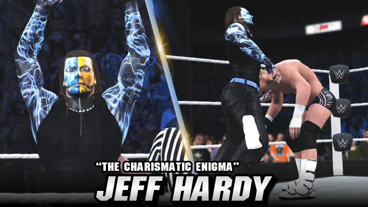 WWE 2K16 Jeff Hardy Entrance, Signatures & Finishers (CC