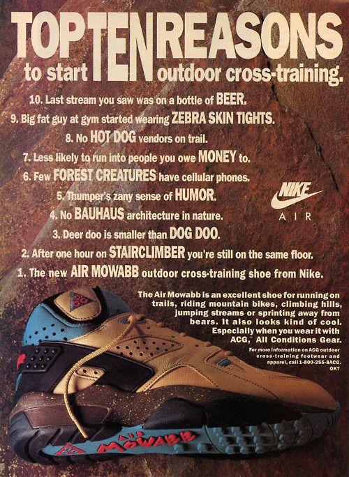 best sneakers 627b4 9a1a3 Nike Air Mowabb ACG