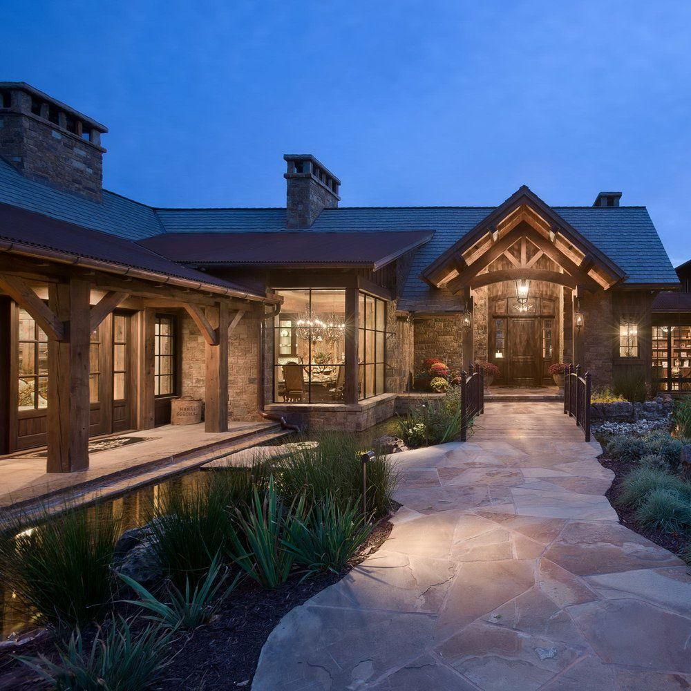Beautiful Lake Homes: Chimney Rock Residence By Locati Architects