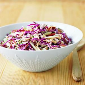 Cabbage And Apple Slaw Recipe Apple Slaw Recipes Red 400 x 300