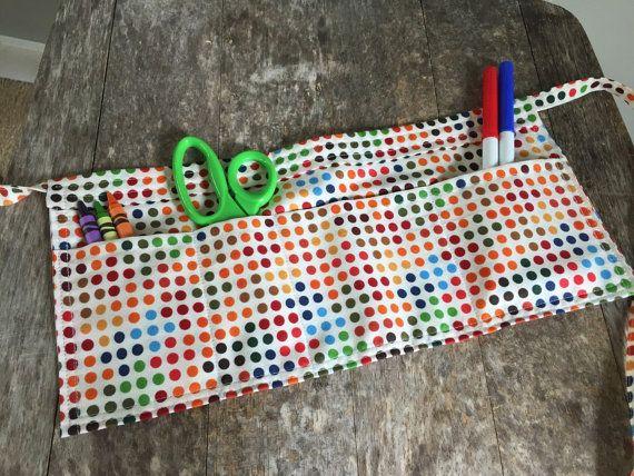 Toddler Tool Belt Polka Dot Tool Belt Kid's by quiltyobsession