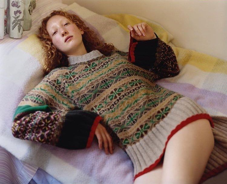 knitGrandeur: 80's Inspired FairIsles- Pringle of Scotland