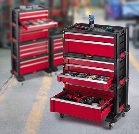 craftsman rolling tool box plastic. new craftsman stacking tool chest storage system rolling box plastic o