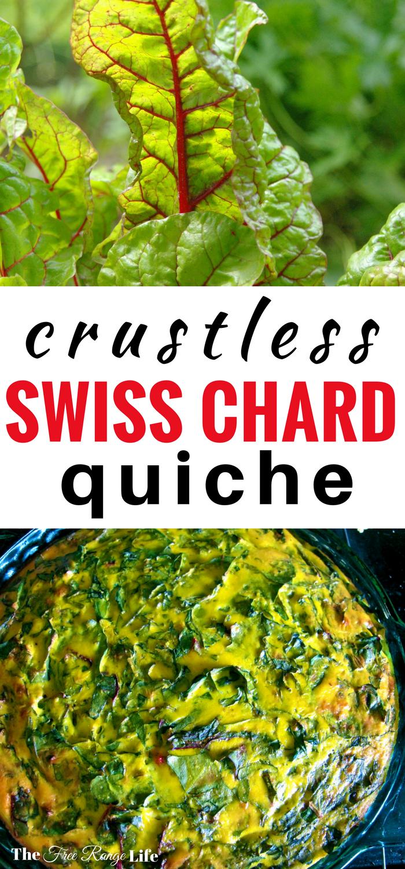 Crustless Chard Quiche Fresh from the Farm! Hometalk