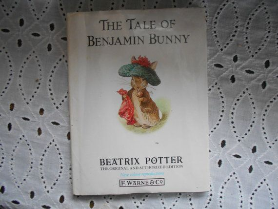 Beatrix Potter's The Tale of Benjamin Bunny by MarginaliaBooks