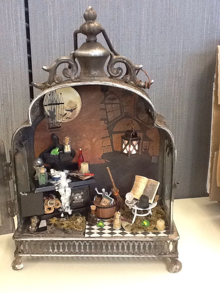 love this! Halloween Lantern- 2015