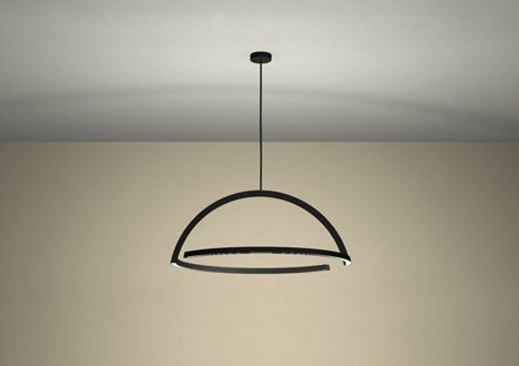 2D LED Pendant ding3000 per Skitsch al Salone del Mobile