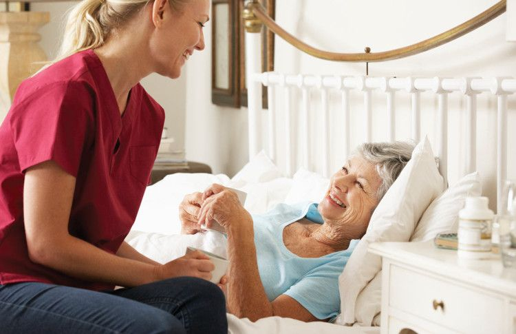 Considering home health care for your mom or dad home