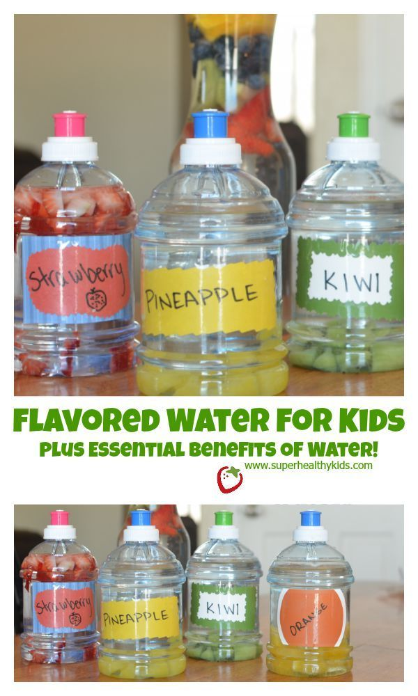 Water for Kids Plus Essential Benefits of Water!