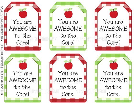 photo regarding Free Printable Teacher Appreciation Tags identify Your self are Incredible in the direction of the Main Present Tags, Printable Instructor