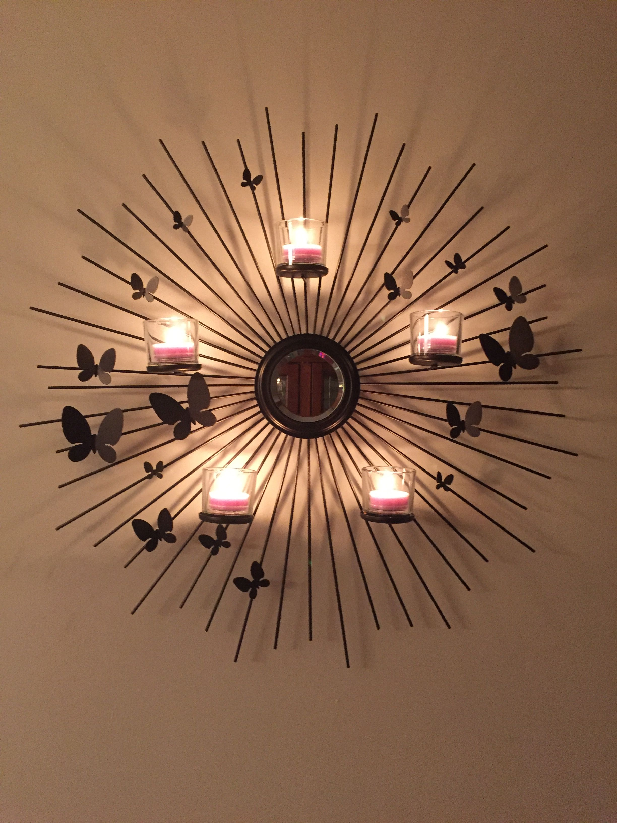 Love my new butterfly wall sconce partylitezdanaalthouse partylitezdanaalthouse aloadofball Image collections