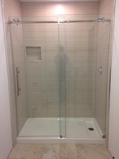 Dreamline Enigma X 56 To 60 In X 76 In Frameless Sliding Shower