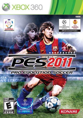 Pro Evolution Soccer 2011 Xbox 360 Game Pro Evolution Soccer Evolution Soccer Football Video Games