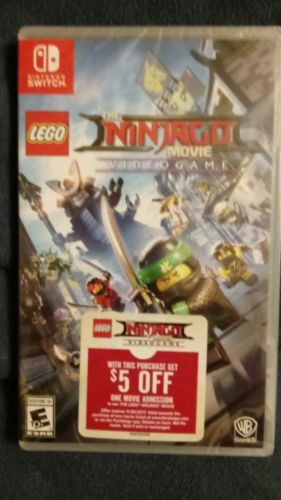 LEGO Ninjago Movie Video Game (Nintendo Switch, 2017): $45.00 End ...