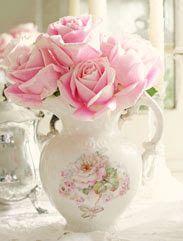 A Suavidade do rosa em rosas - Imagens de Flores