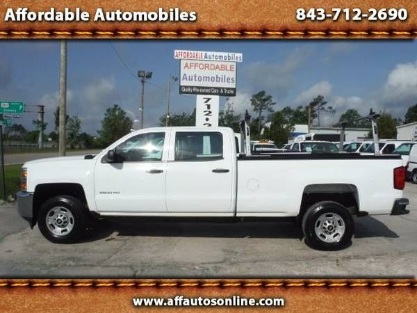 2015 chevrolet silverado 2500hd work truck crew cab 2wd affordable automobiles buy here pay. Black Bedroom Furniture Sets. Home Design Ideas