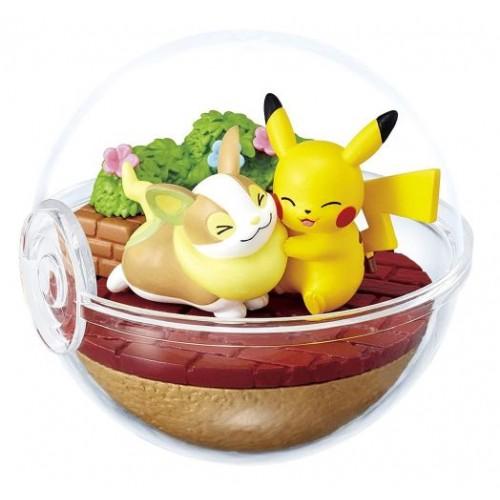 Pokemon 2020 Pikachu Yamper Re Ment Terrarium Ex Galar Series 1 Figure In 2020 Pikachu Pokemon Terrarium