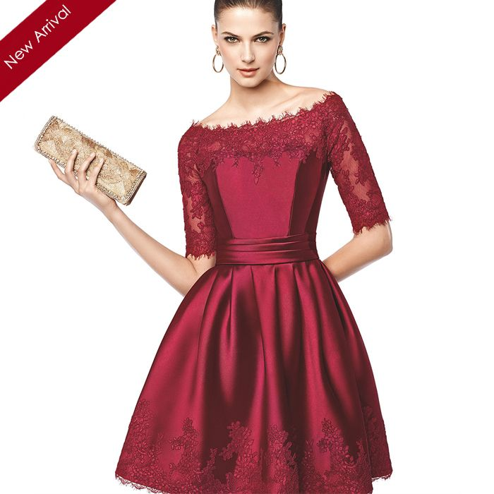 red cocktail dress with sleeves for teens - Google Search | Red ...